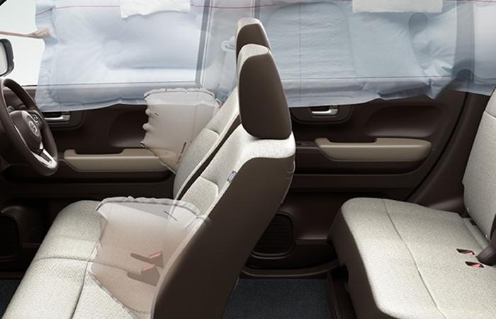 進安全機能は軽自動車クラストップレベル