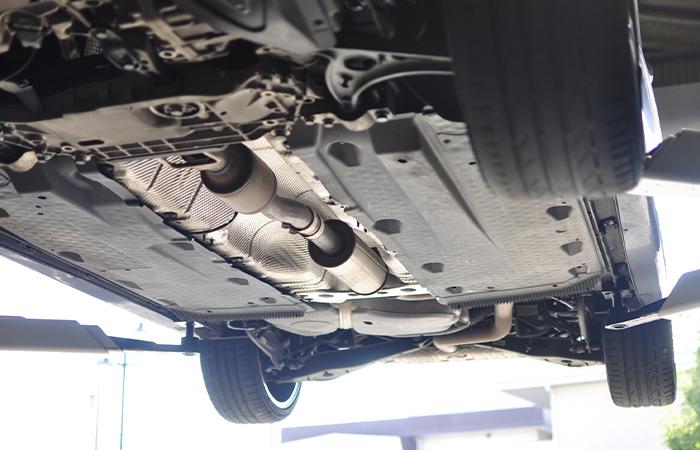 修復歴の基準「自動車のフレーム」